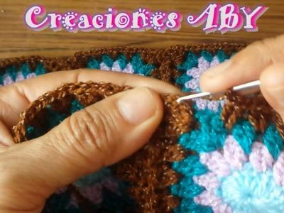 Union de Cuadros a Crochet