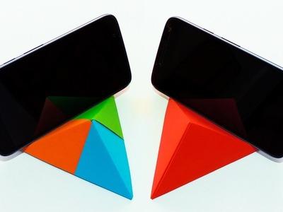 2 Bases para Celular Fáciles de Papel - DIY | JuanTu3