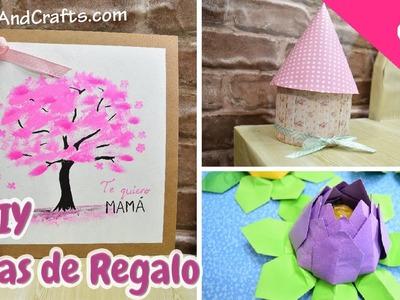 3 DIY Ideas de Regalos para Dia de la Madre de ultimo minuto! - DecoAndCrafts