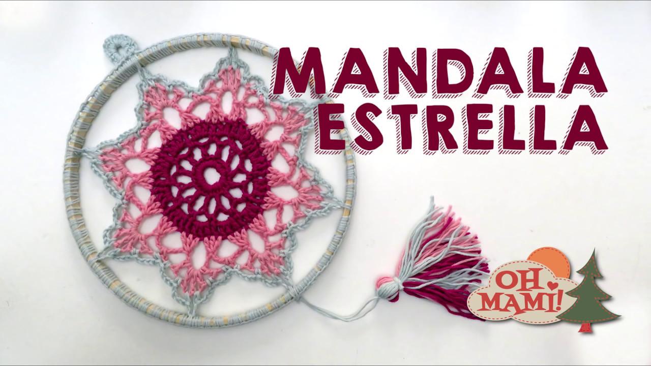 Atrapasueños Mandala Estrella A Crochet 2 Dream Catcher