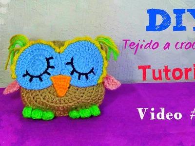 Buhito Dormilón !!! Tejido a Crochet !!! Video #2     ( Todas las piezas)