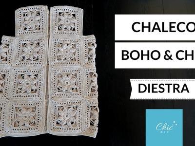 CHALECO A CROCHET   DIESTRA   CHIC DIY