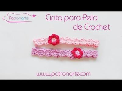 Cinta para el Pelo de Crochet