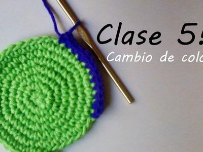 Clase de crochet 5: 3 formas de cambiar de color en crochet!