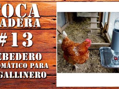 Cómo hacer un bebedero automático para el gallinero - DIY Automatic waterer for the chicken coop