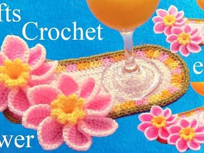 Como tejer a crochet flores a Mamá ideas de regalos - Flower Crochet