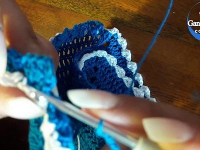 Como tejer Body o Pelele a crochet paso a paso - 2 Parte