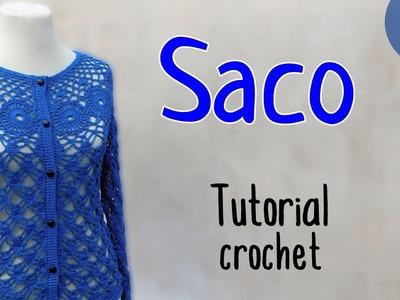 Como tejer un saco a crochet (3.3)