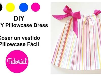 DIY vestido niña Pillowcase modelo FÁCIL (I)