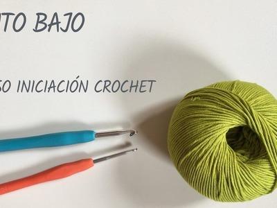 Punto bajo - Crochet