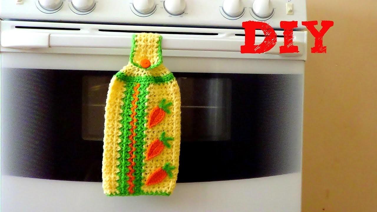 Secador de Manos para Tu Cocina!!! Animate a Tejerlo!!! A Crochet
