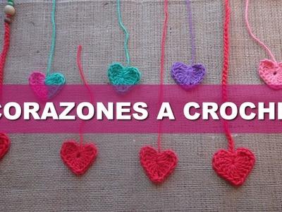 Tutorial: Corazones a Crochet en 6 pasos