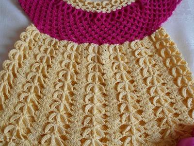 Tutorial de crochet. Blusa tejida a crochet paso a paso Parte #3
