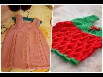 Vestidos sin mangas a crochet para peques