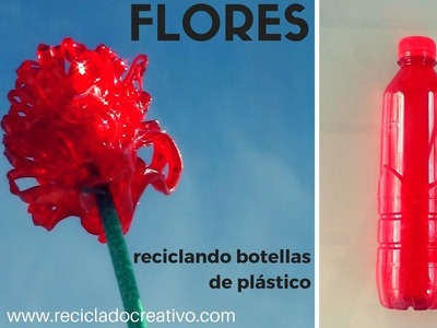 Cómo hacer dalias diminutas con botellas de plástico - DIY little flowes out of plastic bottles