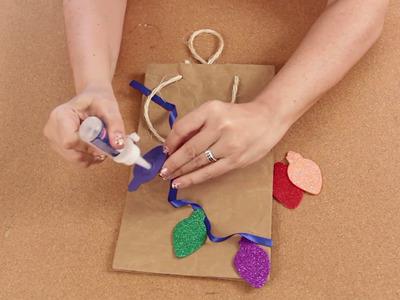Decora tus bolsas de papel - Manualidades para ti - DIY
