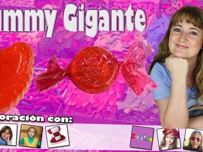 DIY Caramelo y corazón de GOMINOLA GIGANTE | GIANT GUMMY XXL - Sonia Gutiérrez