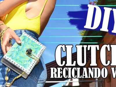 DIY clutch reciclado | de VSH a bolso