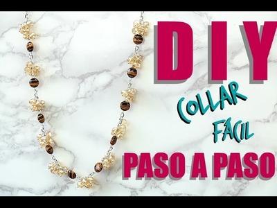 DIY COLLAR FÁCIL DE POMPONES! Paola Herrera Cómo hacer joyería