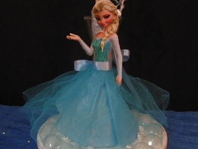 Frozen Manualidades para cumpleaños