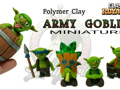 Goblins Army | Clash Royale | Polymer Clay Tutorial