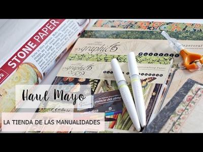 Haul Mayo: Graphic 45, Stone paper y más.  La Tienda de las Manualidades