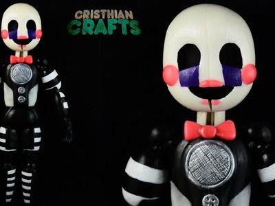 How to Make FUNTIME PUPPET | SISTER LOCATION | Cold Porcelain. Polymer Clay Tutorial