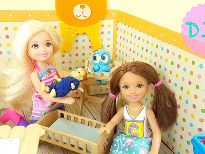 La Habitación de los Juguetes - Manualidades para muñecas Barbie Chelsea - I ????  DIY