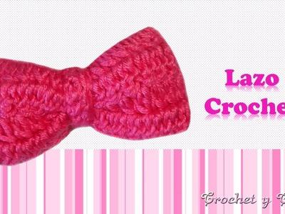 Lazo tejido a crochet (ganchillo)