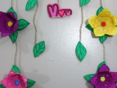 Manualidades para El Dia de La Madre.Ideas fáciles flores con botella de plástico