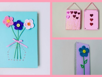 MANUALIDADES PARA EL DIA DE LA MADRE, O PARA DECORAR TU CUARTO (CRAFTS FOR MOTHER'S DAY)