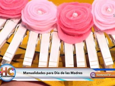 Manualidades para el Día de las Madres.