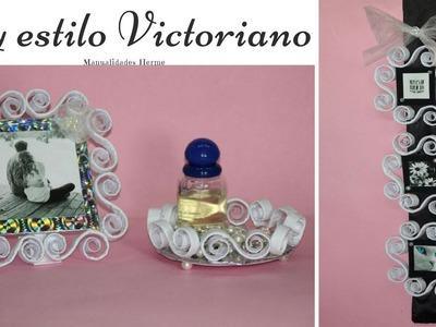Tres diy estilo Victoriano