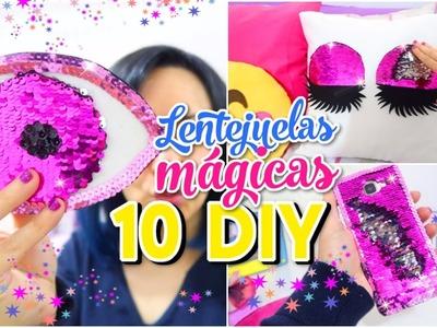 10 DIY INCREÍBLES DE LENTEJUELAS MÁGICAS REVERSIBLES QUE CAMBIAN DE COLOR