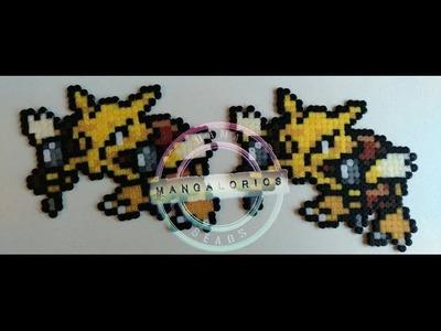 Alakazam hama beads mini HD