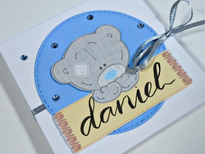 Álbum de bebé con caja | Scrapbooking | Idea regalo Baby Shower o Bautizo