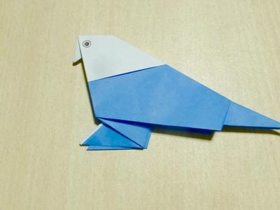 【Bricolaje】 Perico. Origami. El arte de doblar el papel.