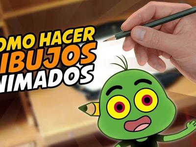 COMO HACER DIBUJOS ANIMADOS - CREA TU PROPIO PROYECTO DE ANIMACION - PARTE 1