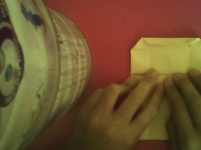 Como hacer una cama con almohada y frasada (primera parte)-vale origami