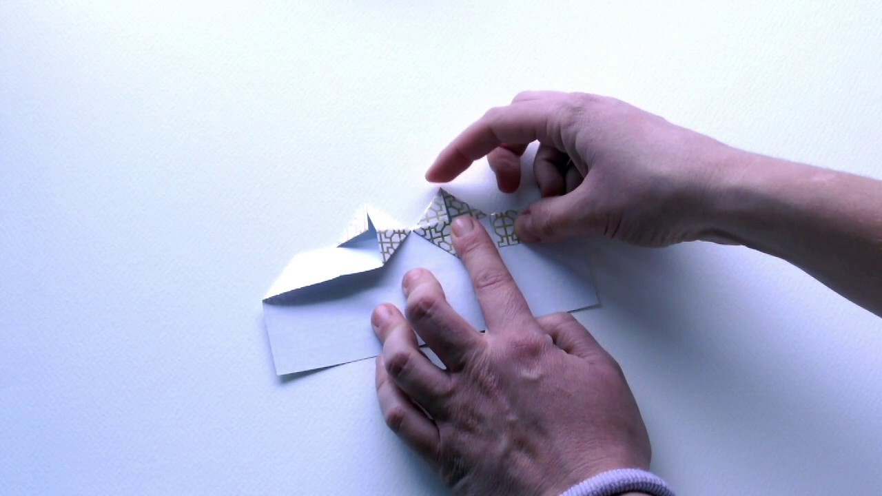Corazón de origami fácil