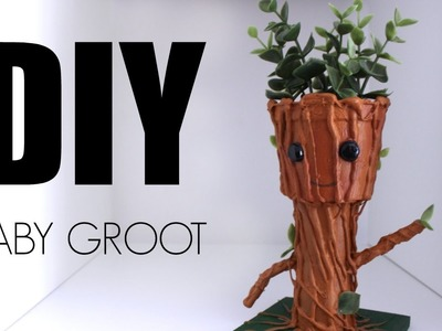 DIY: BEBÉ GROOT | GUARDIANES DE LA GALAXIA