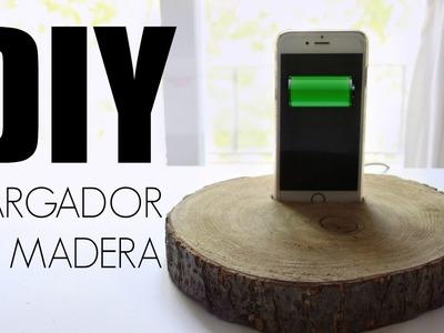 DIY: CARGADOR DE MADERA