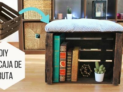 DIY con Caja de Frutas | Helen Dressler DIY