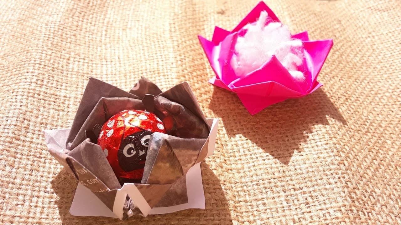 Flor de Loto - origami