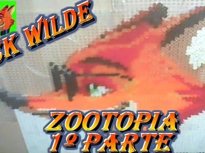 Hama Bead Nick Wilde (Zootopia)