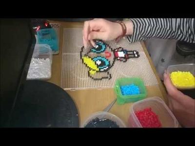 Harley quinn (supernena) hama beads