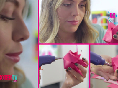 ¿Natalia Castillo vende flores de origami? #KotexTV