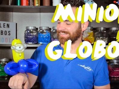 Pulsera Minion de globos - Tutorial de globoflexia - Minion bracelet Balloons