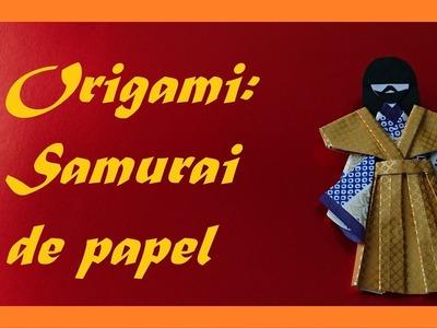 Samurai de papel de Origami