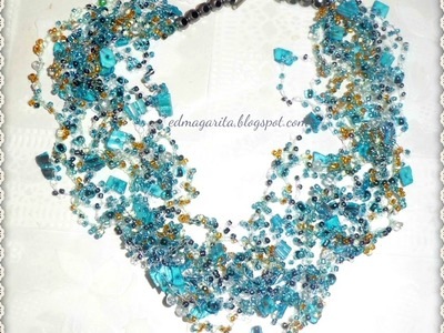 Tutorial; Como Preparar Elegante collar Invisible - Paso 01